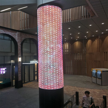 Creative led video moving message