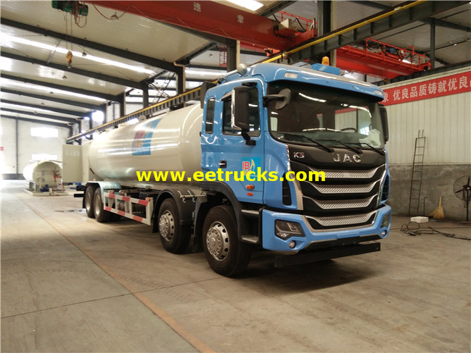 15ton Mobile LPG Filling Trucks