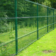 powder coated 3d wire mesh fence
