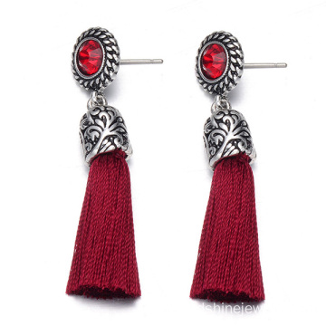 Trendy Jewelry Earring With Long Tassel Charm Earring Gift
