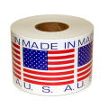 Logo Printing Roll Adhesive Packaging Label Sticker