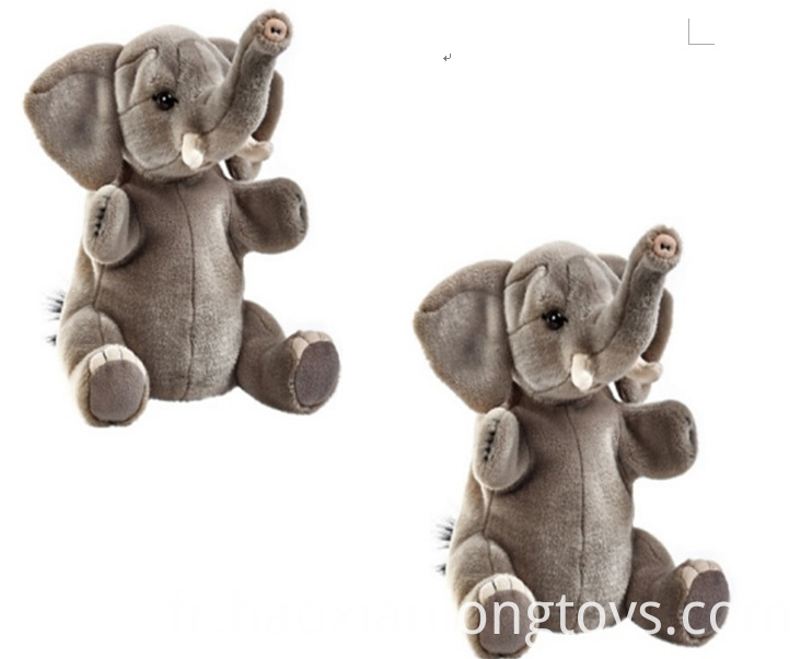 Crystal Eye Plush Elephant