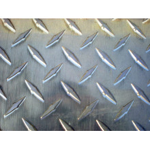 diamond checkered aluminum embossed metal sheet
