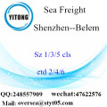 Shenzhen Port LCL Consolidation To Belem