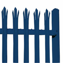 Cheapest Price for High Quality Palisade steel fence high security steel palisade fence export to Sudan Manufacturer