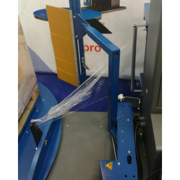 Auto Film Wrapper For Pallet