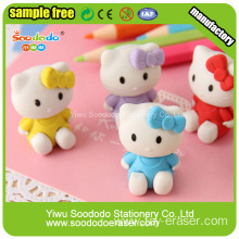 Hello Kitty Eraser The Hot Sell 3D Promotional Erasers Rubber