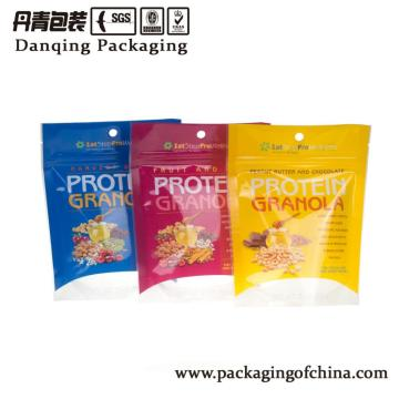 DQPACK Plastic packaging doypack with zipper for food