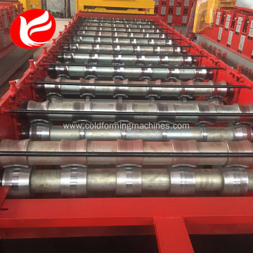 Standard roof panel color steel roll forming machine