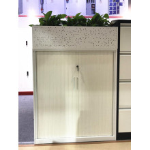 Factory Supplier for China Tambour Door Cabinet,Tambour Door,Tambour Door Cupboard Manufacturer Middle height roll door cabinet with garden pot supply to China Wholesale