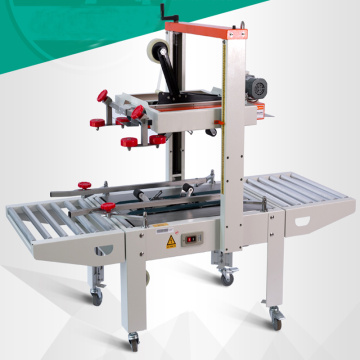 Carton box automatic carton sealing packaging machine