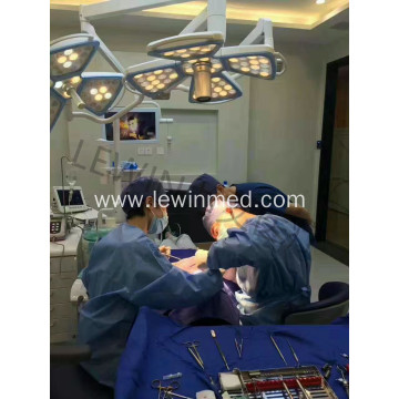Perfect cold light medical surgery lamp with camera