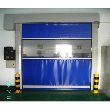 PVC Fabric High Speed Door With Radar Sensor