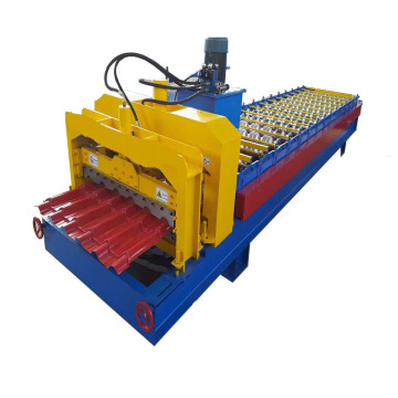 European Standard Glazed Tile Roll Forming Machine