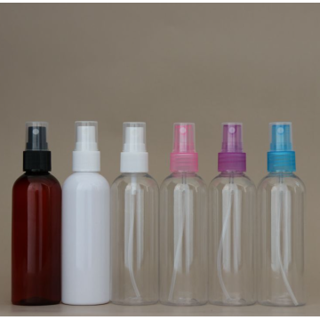 Empty PE shampoo bottle travel cosmetic bottle