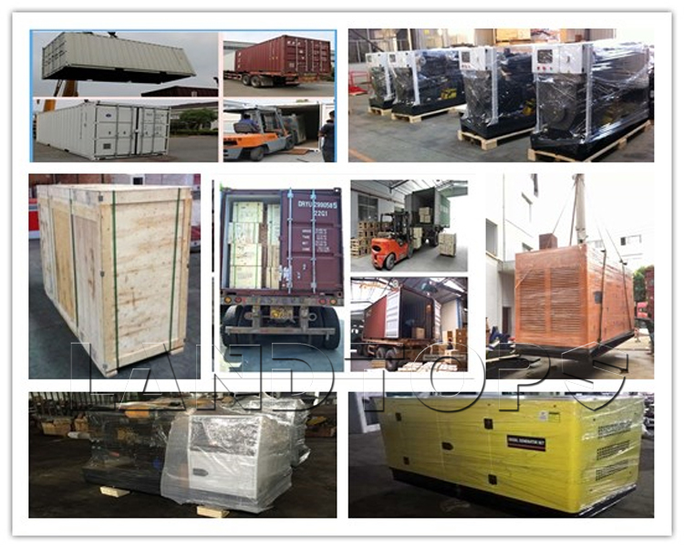 genset packing and shiping