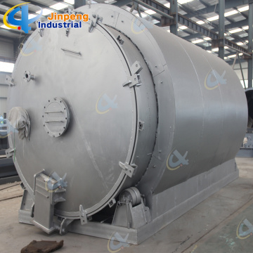 Pyrolysis Tyre Recycling Plant