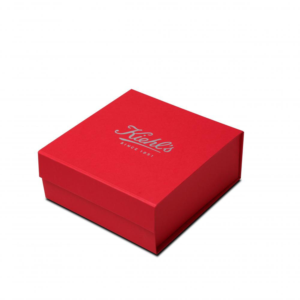 Kiehl's Red Dyed Paper Gift Boxes