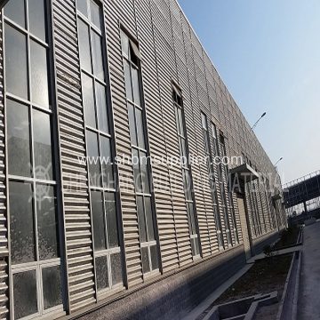 Iron Crown Aluminium Foil MgO Corrugated Roofing Sheets