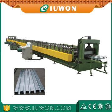 Personlized Products for China Metal Floor Deck Roll Forming Machine, Steel Deck Former High Efficiency Steel Floor Deck Machine export to St. Helena Exporter