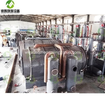Tyre Pyrolysis Oil Process Emissions
