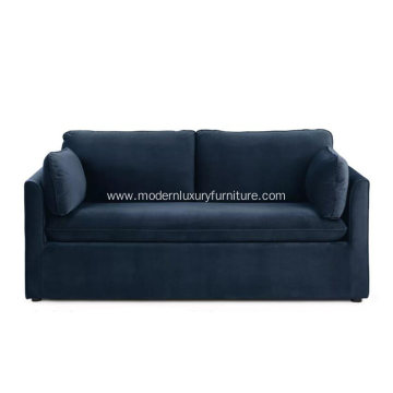 Oneira Tidal Blue Fabric Sofa
