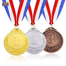 High Efficiency Factory for Blank Medals For Engraving Blank award gold silver bronze medals supply to Greenland Wholesale