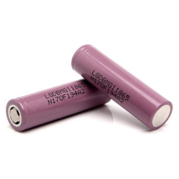 LG INR18650MG1 2850mAh 10A Discharge Battery