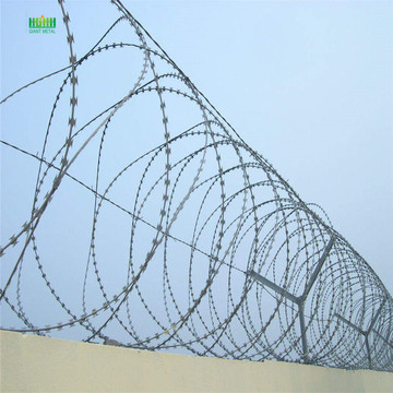 Home depot  hot dipped razor barbed wire