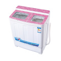 Pink Glass Cover 6KG Twin Tub Washing Machine
