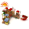 Combination Ship Mixed Outdoor Playground Equipment For Sale