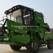 large sized non traditional combine harvester