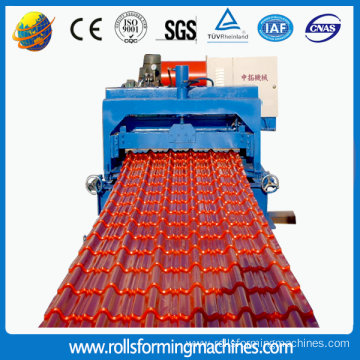 ZT Galvanized Roofing Sheet Roll Forming Machine