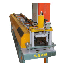 Fence wall panel roll forming machine