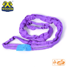 PriceList for for Nylon Webbing Slings Heavy Duty 1Ton Endless Polyester Round Sling export to Chile Importers