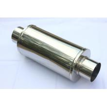 "High reputation for Motorcycle Exhaust Muffler 7.625"" Round Univeral Muffler supply to Pakistan Wholesale"