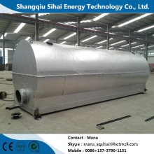Chinese Professional for Waste Tire Oil Distillation Plant,Oil Distillation To Diesel Plant Manufacturers and Suppliers in China Continuously distillation plant for waste oil supply to Sierra Leone Wholesale