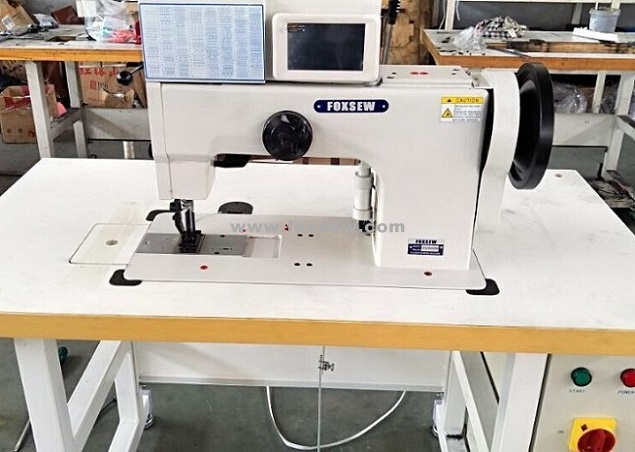 Computerized Zigzag Pattern Sewing Machine for Ornamental Stitching