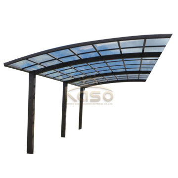 InventionHome Wood Carport Hip Roof Large Car Canopy