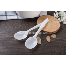 White Disposable PP Plastic Spoon