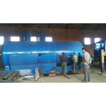 new cooling system tire pyrolysis to oil plant