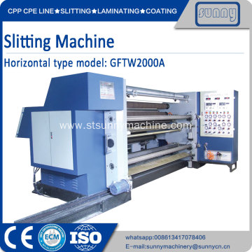 Good Quality for China Plastic Film Slitting Machine, Automatic Film Roll Slitting Machine, Plastic Film Slittng Machine Supplier Flexible packaging Film slitter Rewinder Machine export to Indonesia Manufacturer