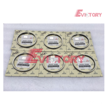 VOLVO engine parts D12C piston ring set