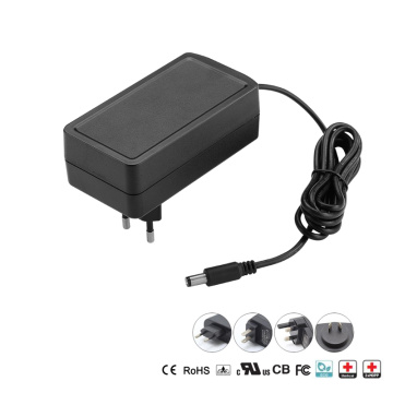 30W Plug-in Wall Medical Power Adapter with EU US