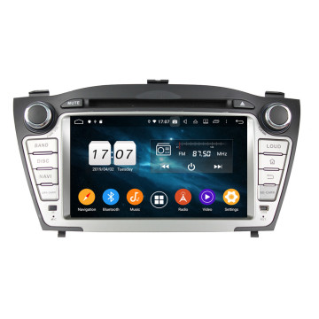 Headunit Android 9 टक्सन IX35 २०० - - २०१२