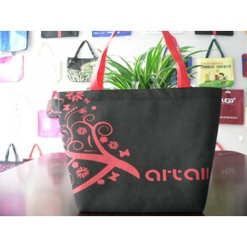 Medium logo printed unique style non-woven advertising bag