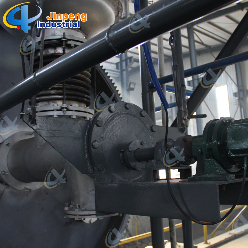 Pyrolysis Oil Boiler Plastic Recycling Line