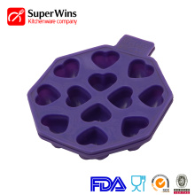 Heart-Shaped Chocolates Cake Candy Ice Cube Mold