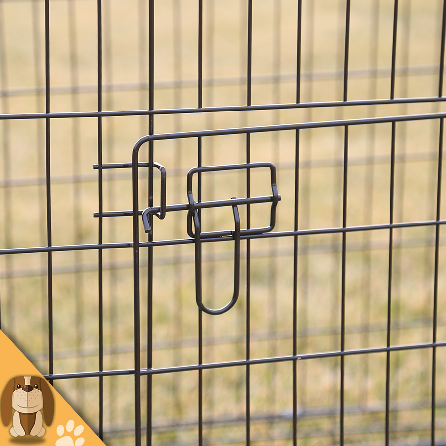 Wire Welded Folding Dog Cages