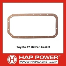 OEM/ODM for Non Asbestos Oil Pan Gasket Toyota 4Y Oil Pan Gasket supply to Jordan Importers